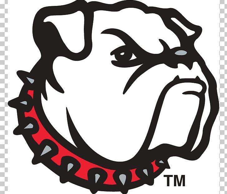 Georgia Bulldogs Football University Of Georgia Logo.