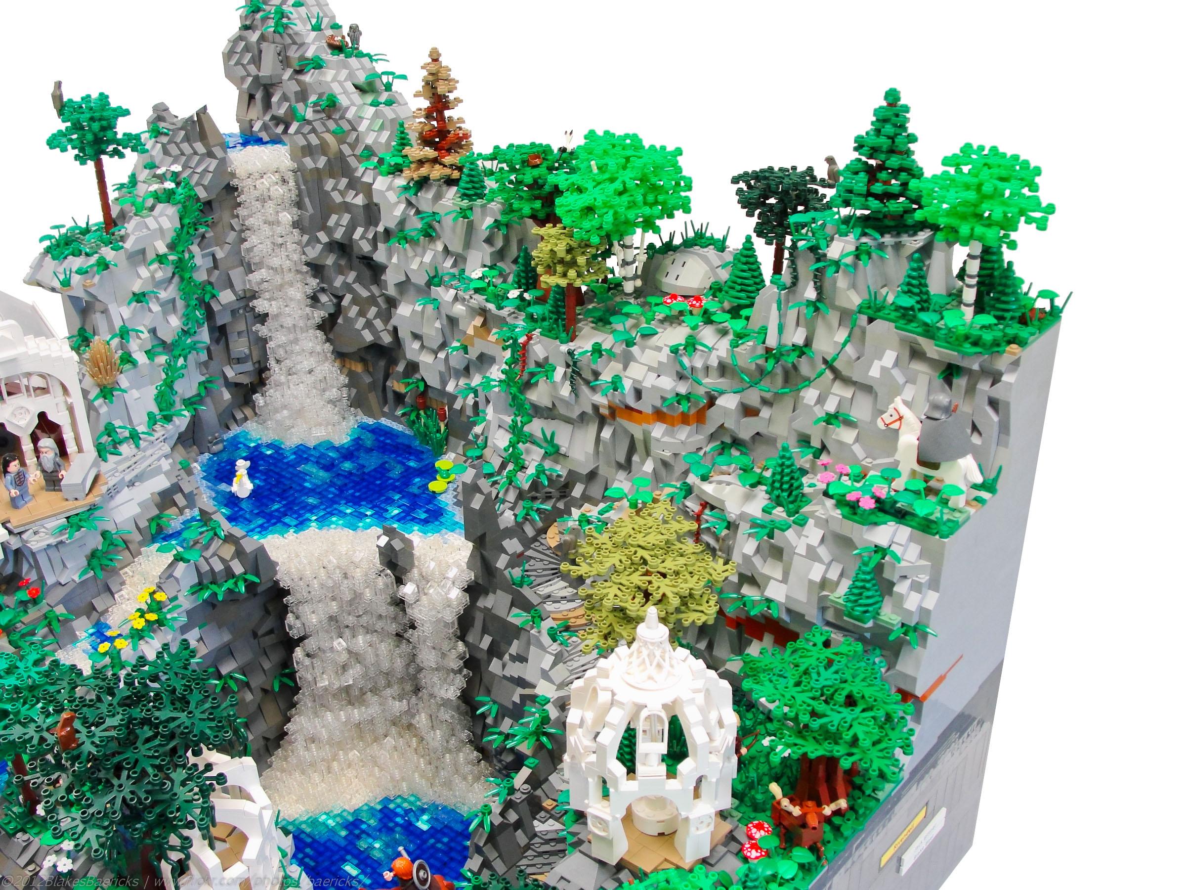 Forgotten DM: LEGO LOTR Rivendell.