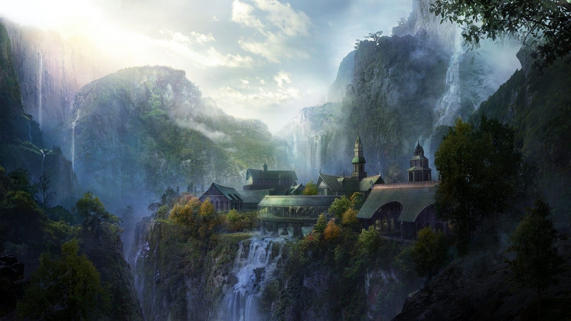 Lord Of The Rings Wallpaper Rivendell Wallpaper Android Wtih.