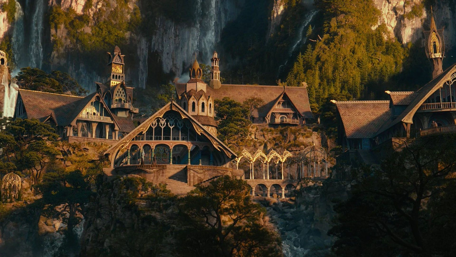 Lord Of The Rings Wallpaper Hd Rivendell.