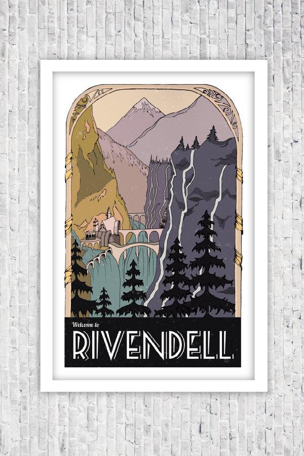 Rivendell clipart.