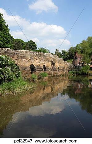 Picture of Stopham Bridge Over The River Arun pcl32947.