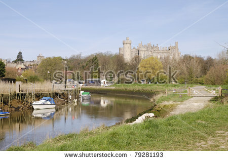 River Arun Stock Photos, Royalty.