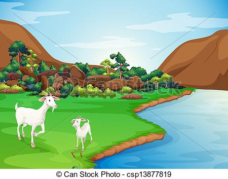 River Bank Clipart.
