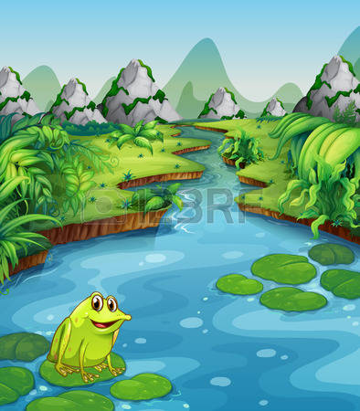 817 River Bank Stock Vector Illustration And Royalty Free River.