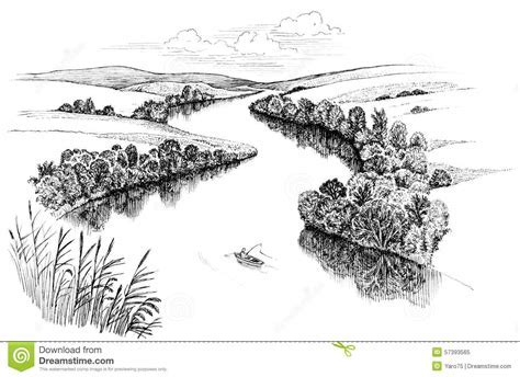 4069 River free clipart.