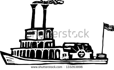 Riverboat Stock Images, Royalty.