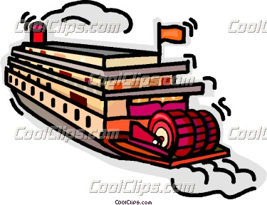 Riverboat Clipart.