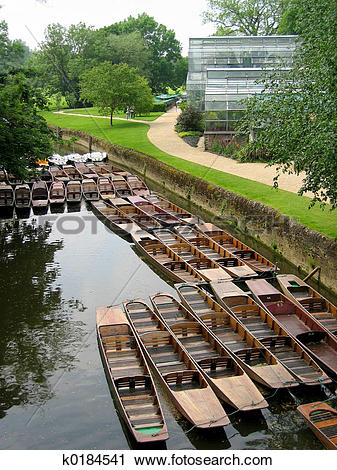 Stock Photography of River Punts k0184541.