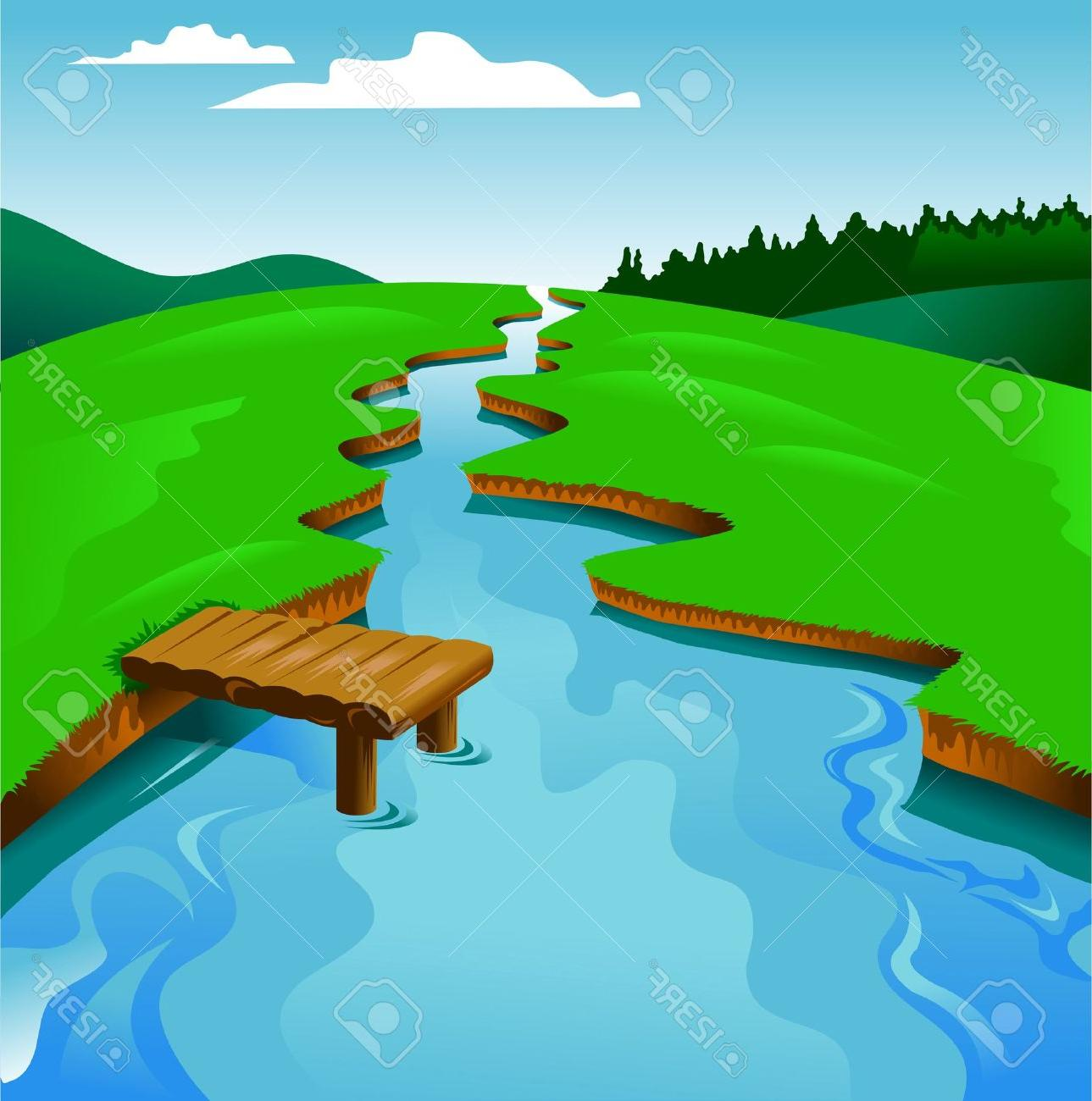 HD Winding River Clip Art Pictures » Free Vector Art, Images.