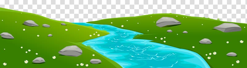 River Diagram , River Ground Cover , river with rocks.
