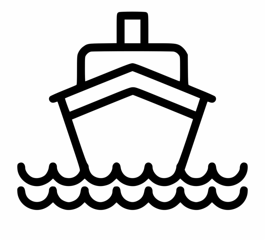 Ship Svg Cruise Boat.