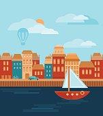 River Dock Pictures Clip Art, Vector Images & Illustrations.