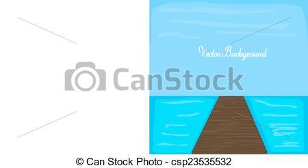 Vectors of River Dock.