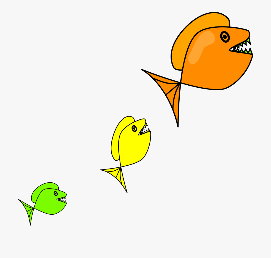 Mainstream Small Fish Clipart.