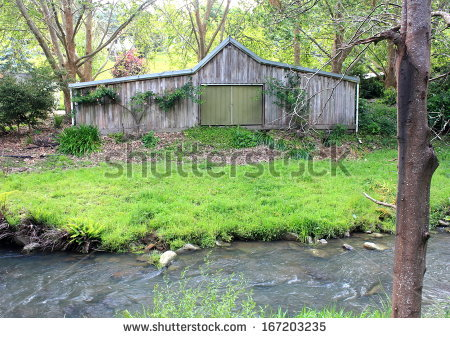 River Frontage Stock Photos, Royalty.
