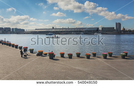 River Ij Stock Photos, Royalty.