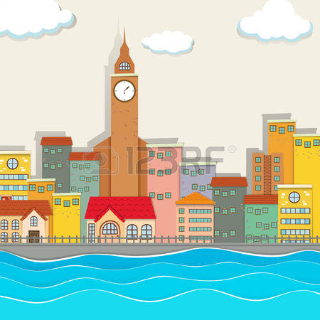 8,657 River City Stock Illustrations, Cliparts And Royalty Free.