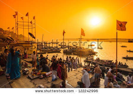 Ganges River Stock Photos, Royalty.