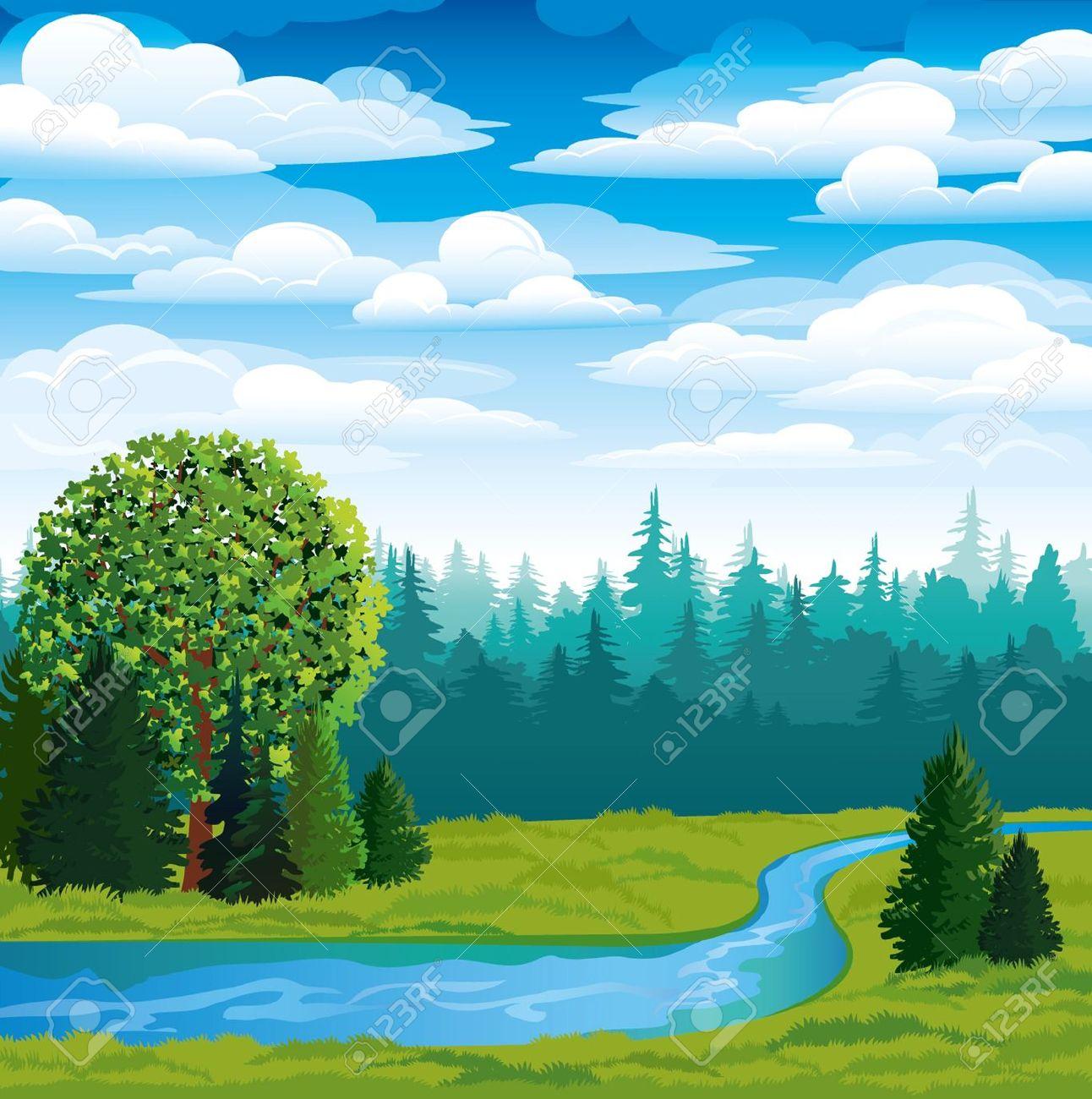 River Clip Art Free.