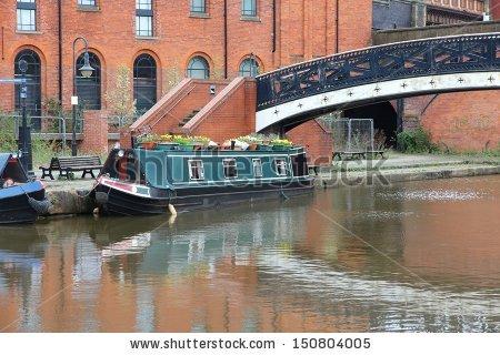 Manchester England Stock Photos, Royalty.