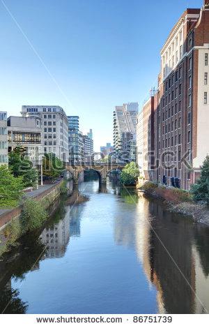 Manchester Uk Stock Photos, Royalty.