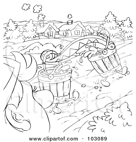 Dirty river water clipart.