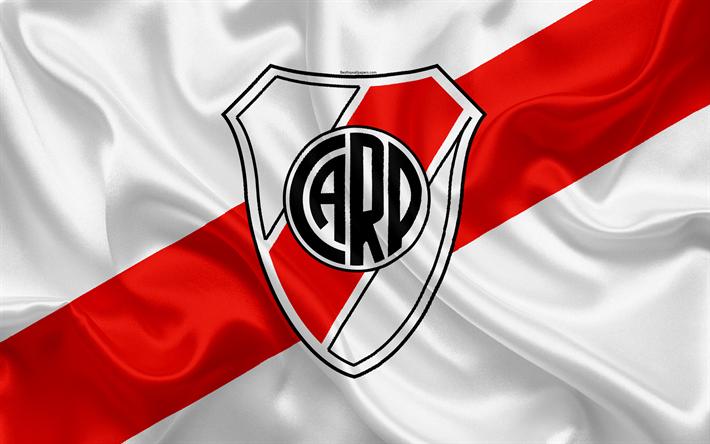 Descargar fondos de pantalla Club Atlético River Plate, 4K.