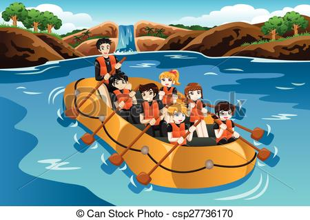 River rafting Clipart Vector and Illustration. 523 River rafting.