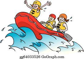 Rafting Clip Art.