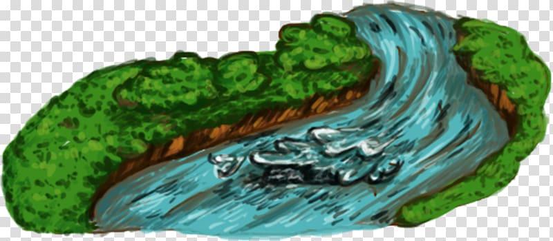 River rapids ride Cartoon Printing, river transparent.