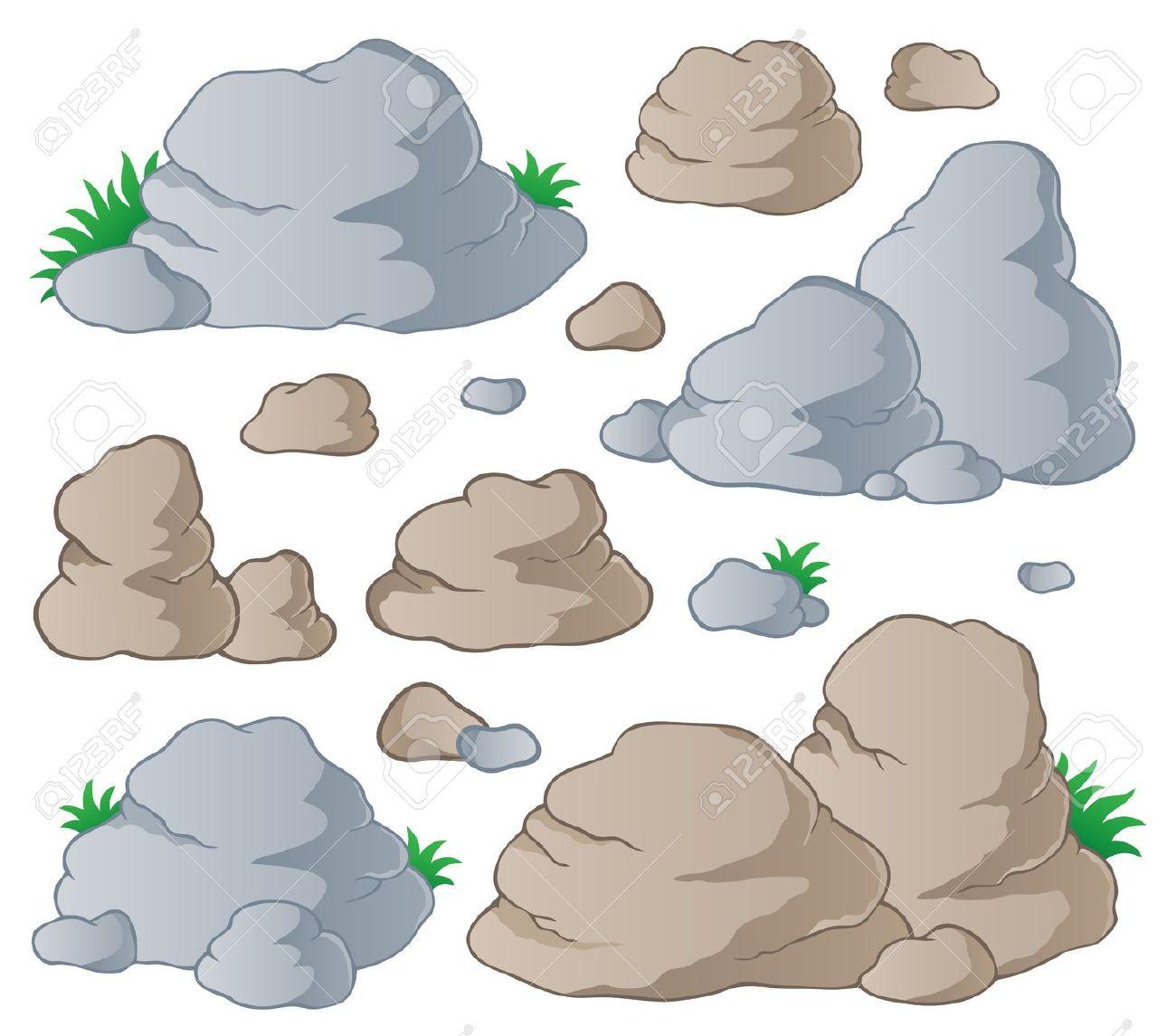 Cobblestone Clip Art : Rock stone clipart clipground