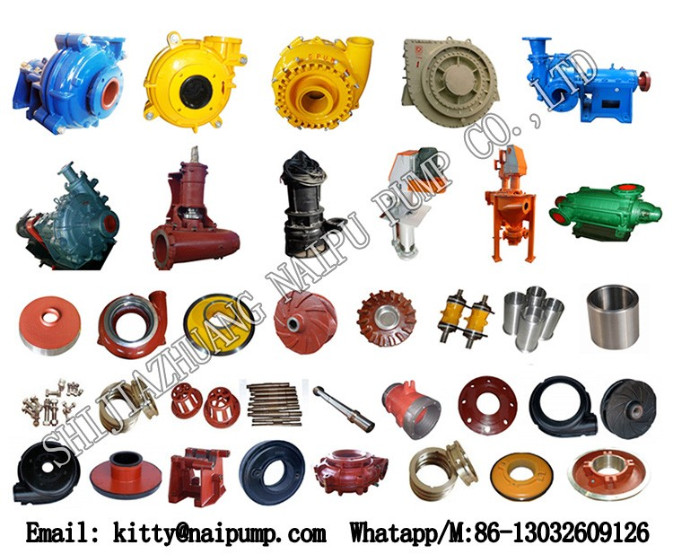 30 Years China Facoty High Abrasive Resistant River Sand Pumping.