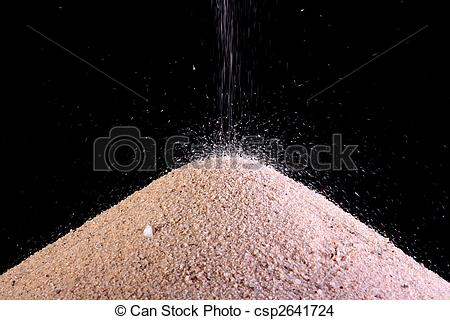 Stock Photo of River sand.