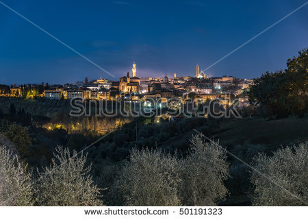 Siena View Cityscape From Stock Photos, Royalty.