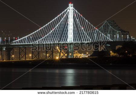 Cooper River Bridge Night Charleston South Stock Photo 72336370.