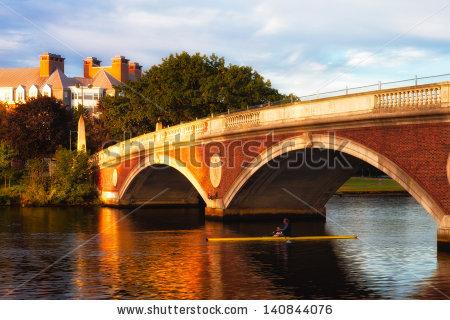 Bridge Span Stock Photos, Royalty.