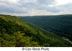 Stock Photo of New River Gorge Bridge.