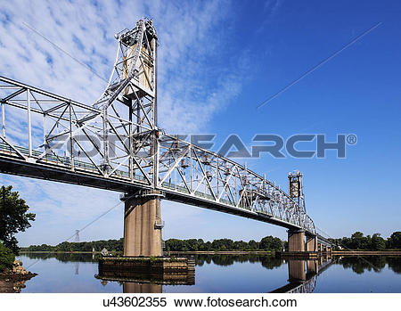 Stock Image of USA, New Jersey, Burlington. The Burlington Bristol.