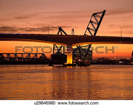Stock Photography of Jacksonville, FL, Florida, Fuller Warren.