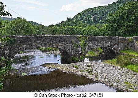 Pictures of River Dwyryd Bridge.