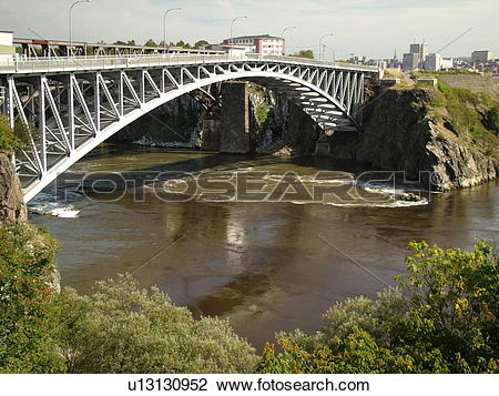 Stock Photo of Canada, New Brunswick, Saint John, Bay of Fundy.