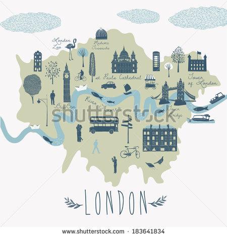 River Thames Stock Vectors, Images & Vector Art.