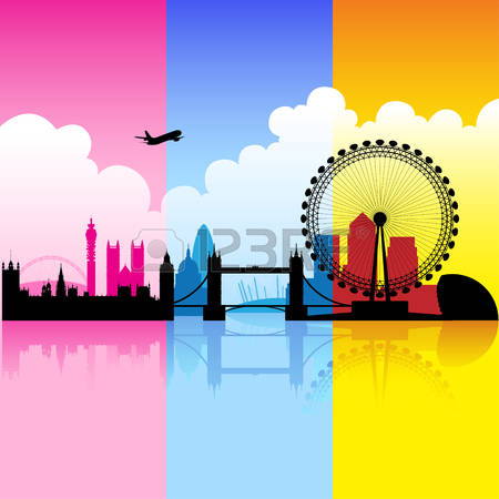 The Thames Stock Vector Illustration And Royalty Free The Thames.