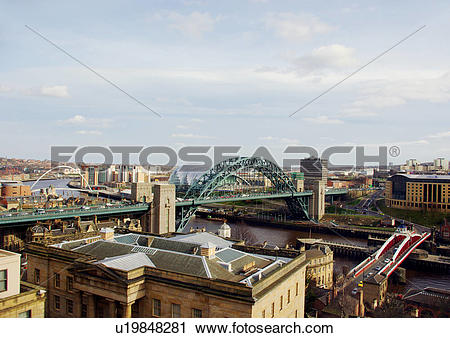 Stock Photography of England, Tyne and Wear, Newcastle Upon Tyne.