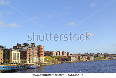 Tyne Bridge Stock Photos, Royalty.
