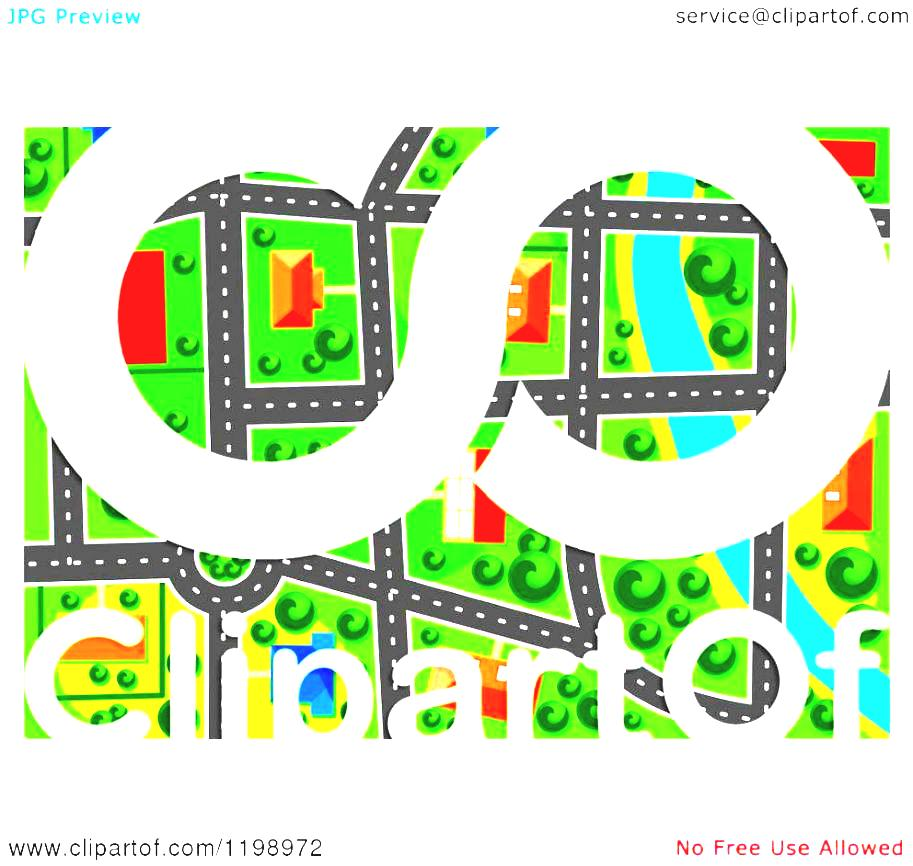 A Park Cliparts Stock Easy Of Maze Buildings Clipart Suburban For.