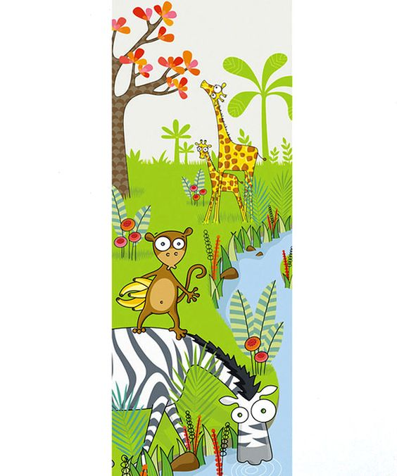 LUDO By the River Wall Decal.