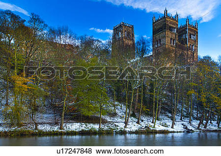 Pictures of England, County Durham, Durham. Durham Cathedral.