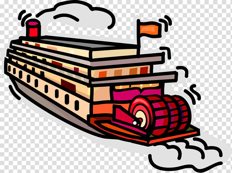 Riverboat transparent background PNG cliparts free download.